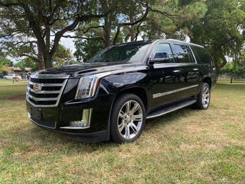 2015 Cadillac Escalade ESV for sale in Fort Lauderdale, FL