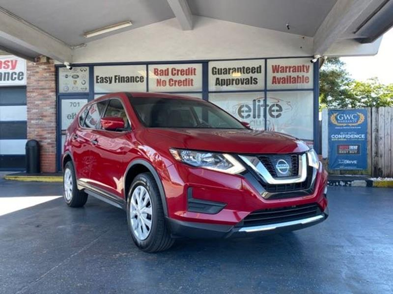 2017 Nissan Rogue for sale at ELITE AUTO WORLD in Fort Lauderdale FL