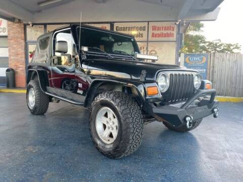 2004 Jeep Wrangler for sale in Fort Lauderdale, FL