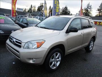 2008 Toyota RAV4 for sale in Marysville, WA