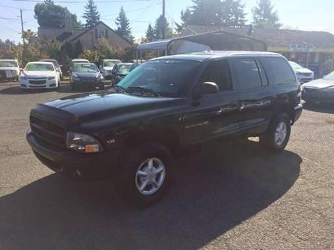2000 Dodge Durango for sale in Marysville, WA