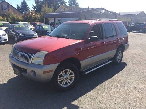 2002 Mercury Mountaineer for sale in Marysville, WA
