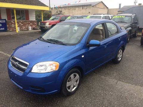 2008 Chevrolet Aveo for sale in Marysville, WA