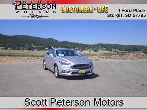 2017 Ford Fusion for sale in Sturgis, SD
