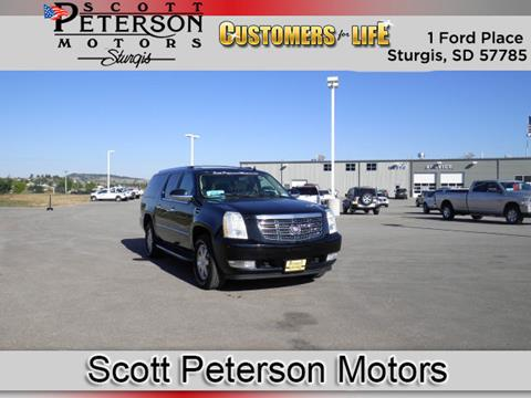 2007 Cadillac Escalade ESV for sale in Sturgis, SD