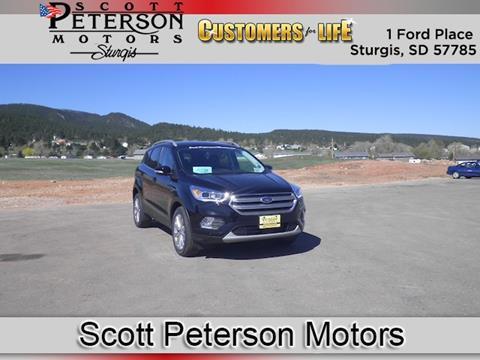 2017 Ford Escape for sale in Sturgis, SD