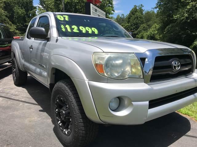 2007 Toyota Tacoma V6 4dr Access Cab 4WD 6.1 ft. SB (4L V6 5A) - Ashville NC