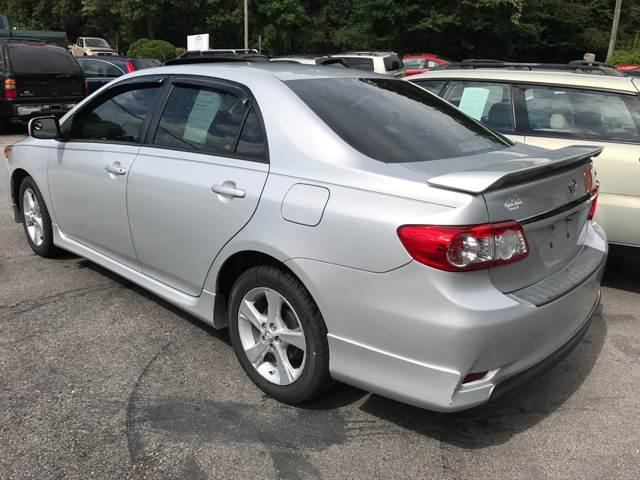 2013 Toyota Corolla S 4dr Sedan 4A - Ashville NC