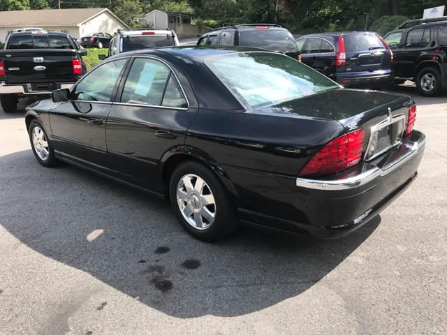2002 Lincoln LS 4dr Sedan V8 - Ashville NC