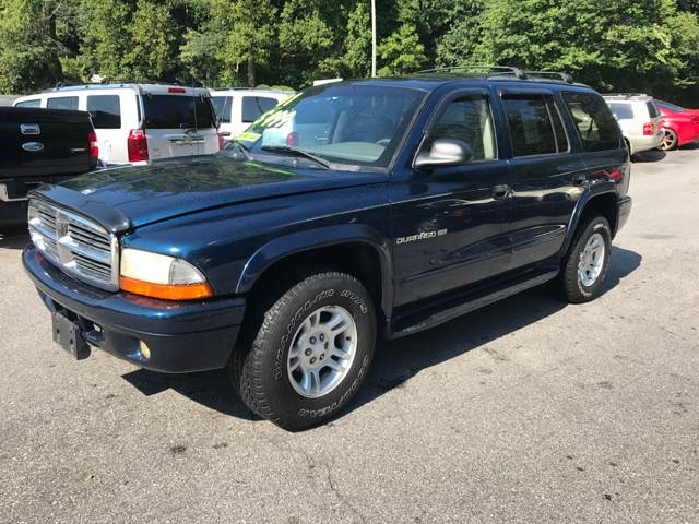 2001 Dodge Durango SLT 4WD 4dr SUV - Ashville NC