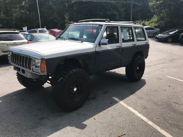 1992 Jeep Cherokee 4dr Laredo 4WD SUV - Ashville NC