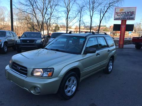 Used 2004 Subaru Forester For Sale In North Carolina