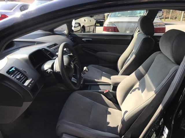 2007 Honda Civic LX 4dr Sedan (1.8L I4 5M) - Ashville NC