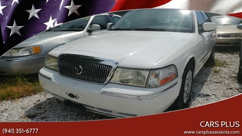2003 Mercury Grand Marquis for sale in Sarasota, FL
