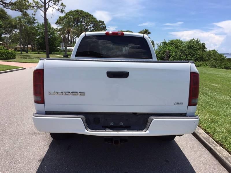 2002 Dodge Ram Pickup 1500 SLT In Sarasota FL - Cars Plus