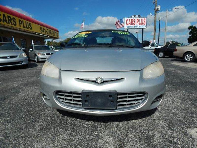 2003 Chrysler Sebring In Sarasota FL - Cars Plus