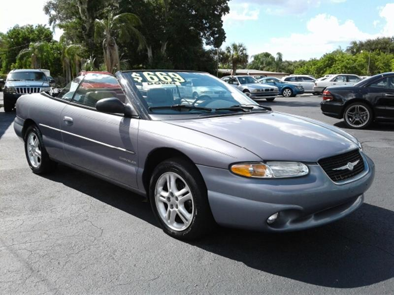 1996 Chrysler Sebring In Sarasota FL - Cars Plus