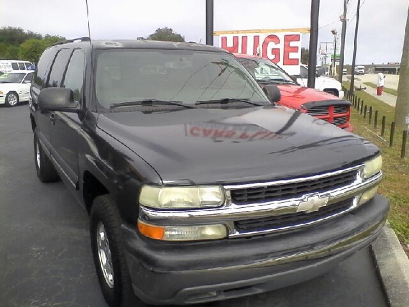 2004 Chevrolet Suburban In Sarasota FL - Cars Plus