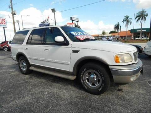 2001 Ford Expedition for sale at Cars Plus in Sarasota FL