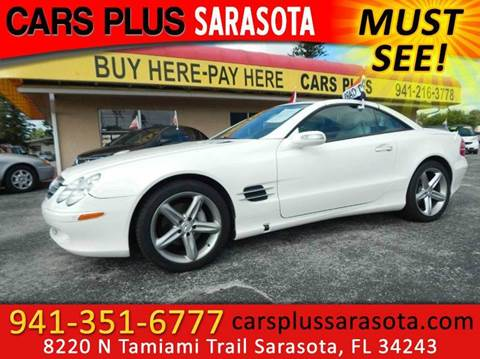 2005 Mercedes-Benz SL-Class for sale at Cars Plus in Sarasota FL