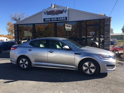 2013 Kia Optima Hybrid for sale in Lovell, WY