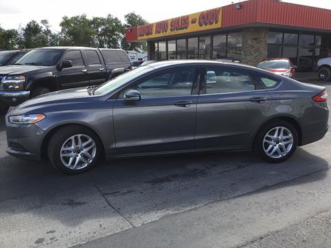 2014 Ford Fusion for sale in Lovell, WY