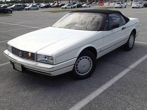 Cadillac Allante For Sale In Pennsylvania Carsforsale Com