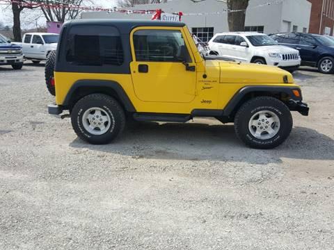2000 Jeep Wrangler for sale in Auburn, IL