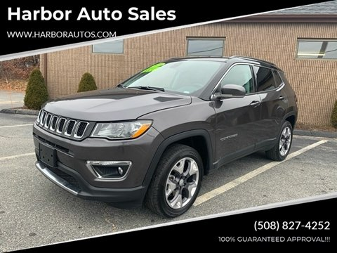 2019 Jeep Compass for sale at Harbor Auto Sales in Hyannis MA