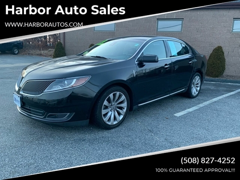 2014 Lincoln MKS for sale at Harbor Auto Sales in Hyannis MA