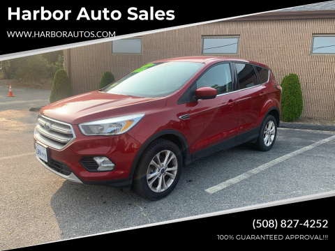 2017 Ford Escape for sale at Harbor Auto Sales in Hyannis MA