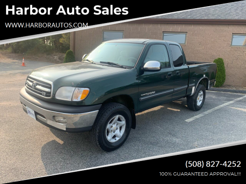 2000 Toyota Tundra for sale at Harbor Auto Sales in Hyannis MA