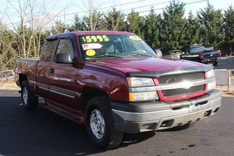 2004 Chevrolet Silverado 1500 for sale at Harbor Auto Sales in Hyannis MA