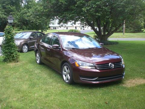 2013 Volkswagen Passat for sale in Carlisle, PA