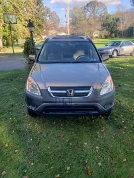 2002 Honda CR-V for sale in Carlisle, PA