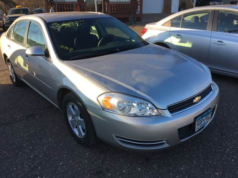 2008 Chevrolet Impala For Sale In Minnesota