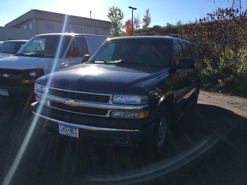 2000 Chevrolet Suburban 4dr 1500 4wd Suv In Maplewood Mn Sparkle