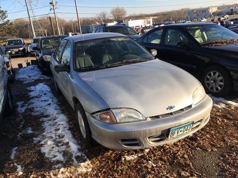 2002 Chevrolet Cavalier For Sale In Maplewood Mn