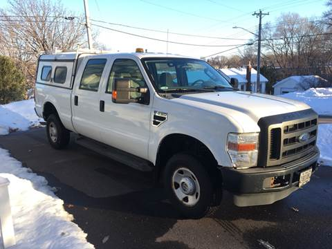 2008 Ford F-250 Super Duty XLT for sale at Sparkle Auto Sales in Maplewood MN