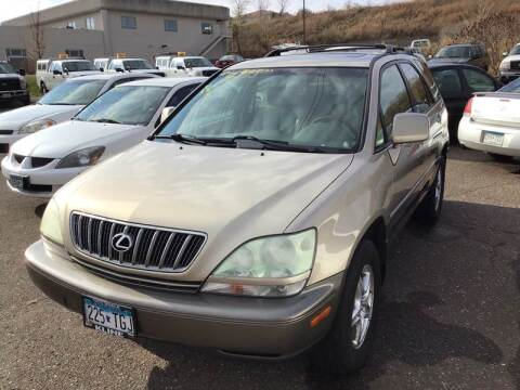 2002 Lexus RX 300 for sale at Sparkle Auto Sales in Maplewood MN