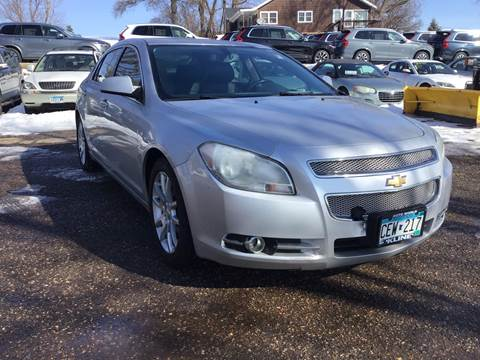 2011 Chevrolet Malibu LTZ for sale at Sparkle Auto Sales in Maplewood MN