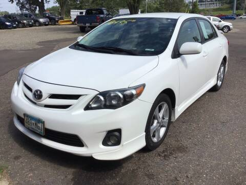 2012 Toyota Corolla for sale at Sparkle Auto Sales in Maplewood MN