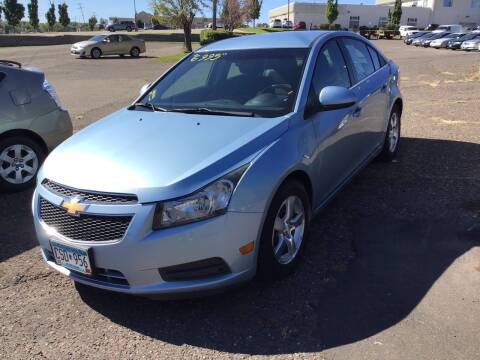 2012 Chevrolet Cruze for sale at Sparkle Auto Sales in Maplewood MN