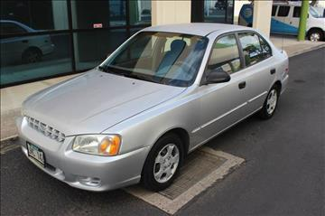 2002 Hyundai Accent for sale in Waipahu, HI