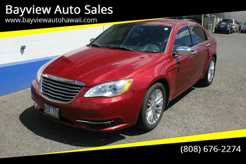 2011 Chrysler 200 for sale in Waipahu, HI