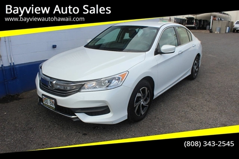 2017 Honda Accord for sale in Waipahu, HI