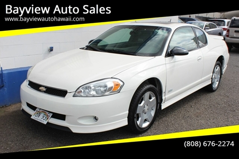 2006 Chevrolet Monte Carlo for sale in Waipahu, HI