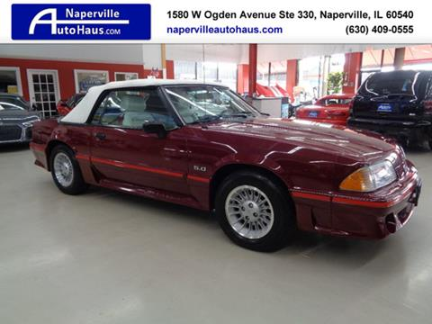 1988 Ford Mustang for sale in Naperville, IL