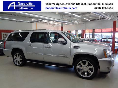 2012 Cadillac Escalade ESV for sale in Naperville, IL