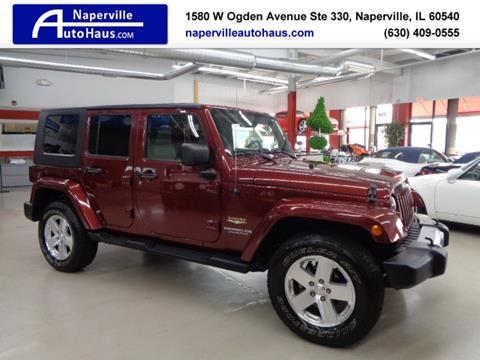 2008 Jeep Wrangler Unlimited for sale in Naperville, IL